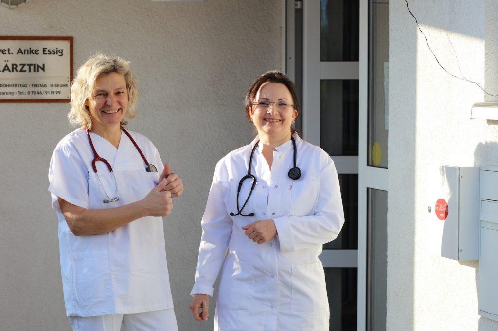 Dr.Anke Essig & TÄ Anna Daum